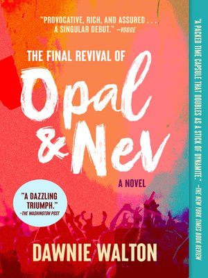 cover image of The Final Revival of Opal & Nev