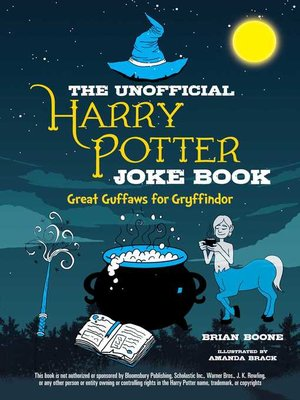 cover image of The Unofficial Harry Potter Joke Book