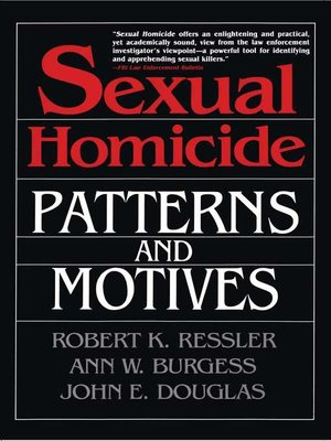 cover image of Sexual Homicide