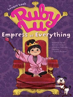 cover image of Ruby Lu, Empress of Everything