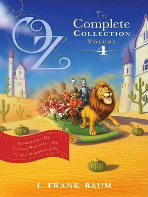 cover image of Oz, the Complete Collection, Volume 4