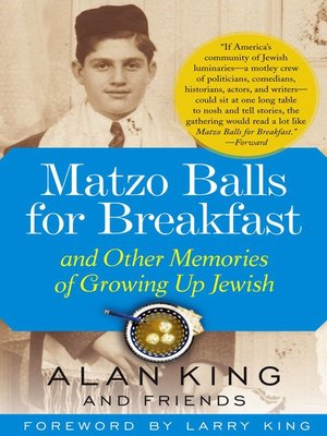 cover image of Matzo Balls for Breakfast and Other Memories of Growing Up Jewish