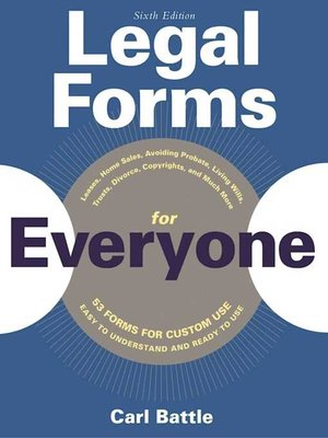 cover image of Legal Forms for Everyone
