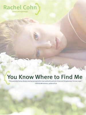 cover image of You Know Where to Find Me
