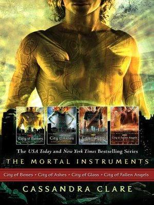 cover image of The Mortal Instruments Series, Books 1 - 4