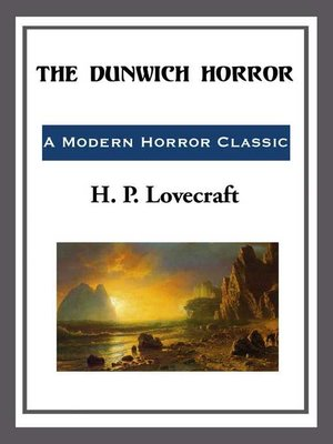 cover image of The Durwich Horror