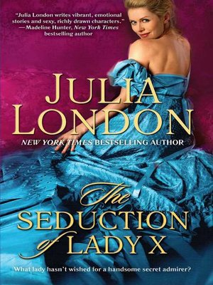 cover image of The Seduction of Lady X