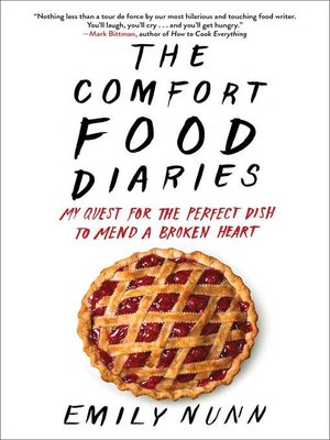 cover image of The Comfort Food Diaries