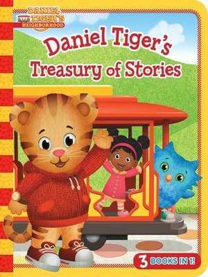 cover image of Daniel Tiger's Treasury of Stories