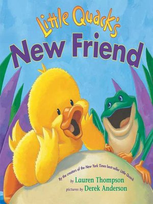 cover image of Little Quack's New Friend