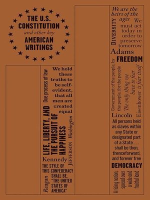 cover image of The U.S. Constitution and Other Key American Writings