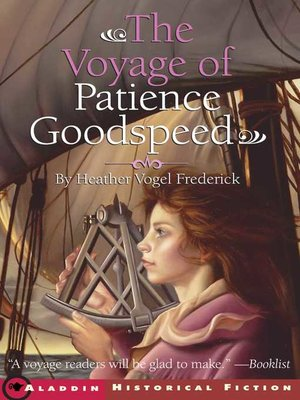 cover image of The Voyage of Patience Goodspeed