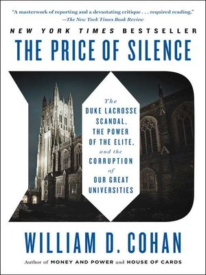 cover image of The Price of Silence