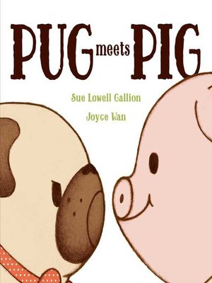 cover image of Pug Meets Pig