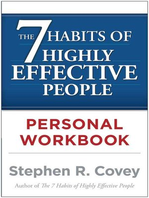 cover image of The 7 Habits of Highly Effective People Personal Workbook
