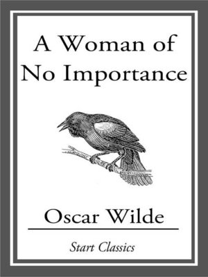 cover image of A Woman of No Importance