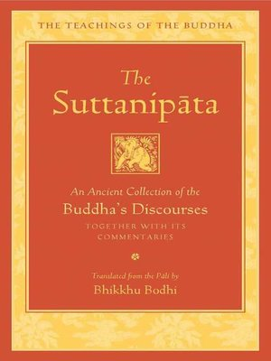 cover image of The Suttanipata