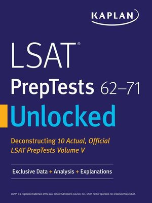 cover image of Kaplan Companion to LSAT PrepTests 62-71