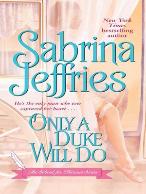 cover image of Only a Duke Will Do