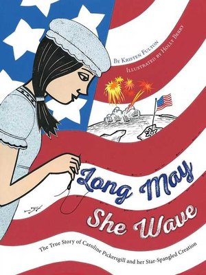 cover image of Long May She Wave