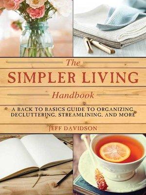 cover image of Simpler Living Handbook