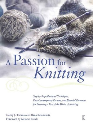 cover image of A Passion for Knitting