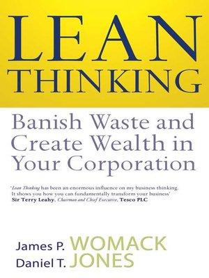 lean thinking womack and jones pdf