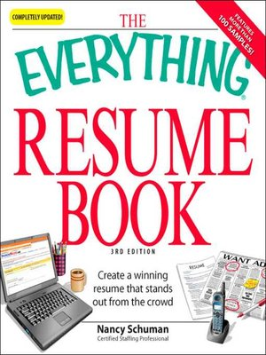 cover image of The Everything Resume Book