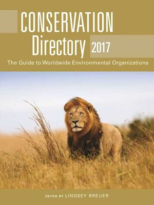 cover image of Conservation Directory 2017