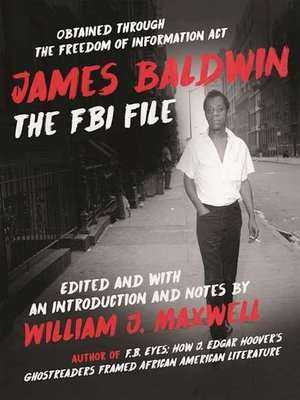 cover image of James Baldwin
