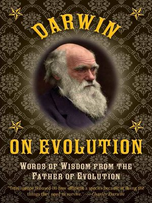 cover image of Darwin on Evolution