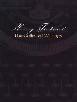 cover image of Harry Tiebout