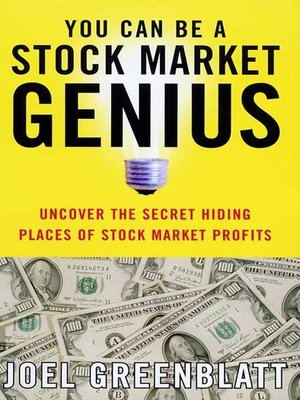 cover image of You Can Be a Stock Market Genius