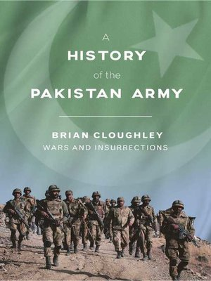 cover image of A History of the Pakistan Army