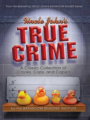 cover image of Uncle John's True Crime