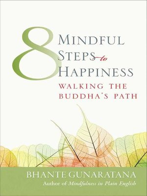 cover image of Eight Mindful Steps to Happiness