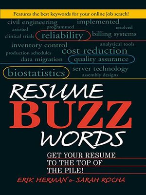 cover image of Resume Buzz Words