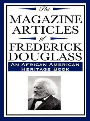 cover image of The Magazine Articles of Frederick Douglass