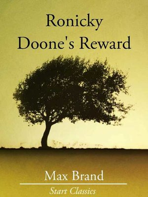cover image of Ronicky Doone's Reward