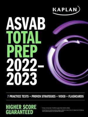 cover image of ASVAB Total Prep 2022-2023