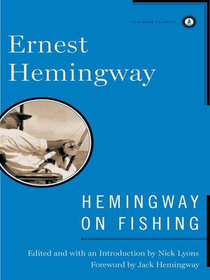 cover image of Hemingway on Fishing