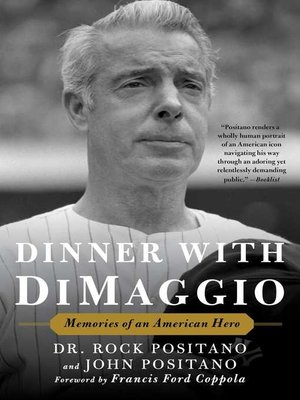 cover image of Dinner with DiMaggio