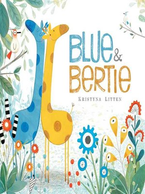 cover image of Blue & Bertie