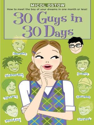 cover image of 30 Guys in 30 Days