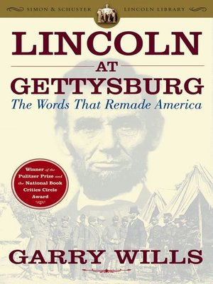 cover image of Lincoln at Gettysburg