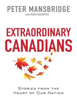 cover image of Extraordinary Canadians