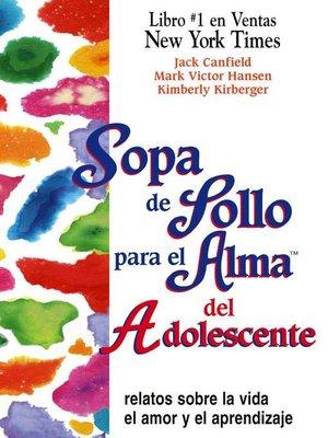cover image of Sopa de Pollo para el Alma del Adolescente