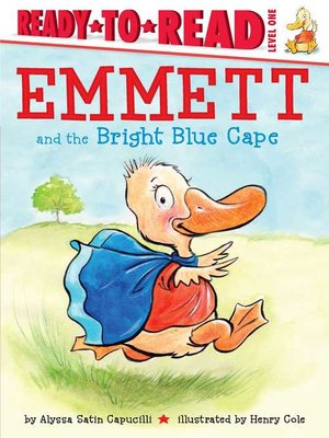 cover image of Emmett and the Bright Blue Cape