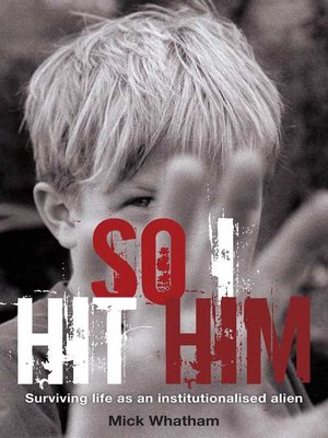 cover image of So I Hit Him