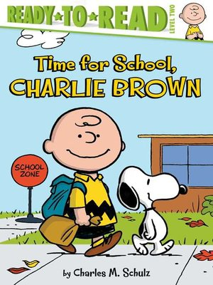 cover image of Time for School, Charlie Brown